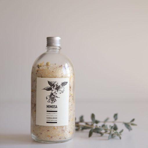 buy mimisa botanicals online bath salt ylang sandalwood